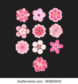 cherry blossom cartoon images stock photos vectors shutterstock rh shutterstock com cherry blossom cartoon pictures cherry blossom cartoon gif