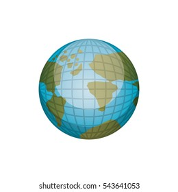 Isolated global sphere design