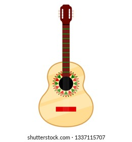 Isolated guitar icon image. Vector illustration design