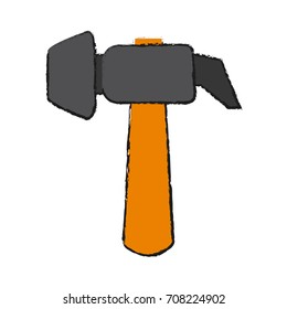 Isolated hammer design