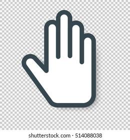 Imágenes, fotos de stock y vectores sobre Hands Open Vector