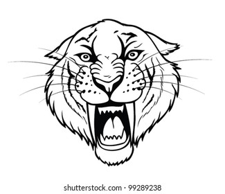 Saber Tooth Tiger Images Stock Photos Vectors Shutterstock