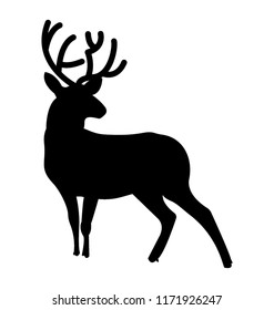 Isolated icon design of a deer animal