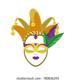 Isolated mask design