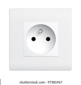 Isolated outlet