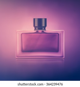 Isolated perfume bottle, eps 10