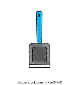 Isolated shovel design