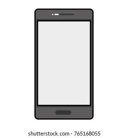 Isolated smartphone design