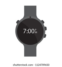 Isolated smartwatch icon
