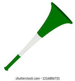 Isolated soccer vuvuzela icon. Vector illustration design