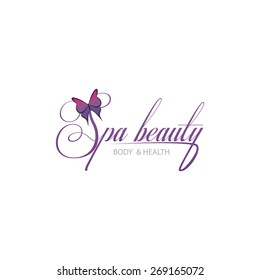 Isolated spa icon on a white background. Vector illustration
