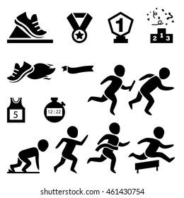 isolated sport.runner icon illustration vector
