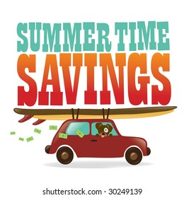Isolated Summer Time Savings