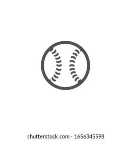 Isolated  Tennis Ball Vector, Flat Icon, Emoji, Cartoon, Emoticon