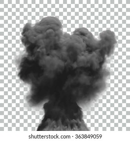 Isolated Vector Smoke Effect | EPS10 Vector