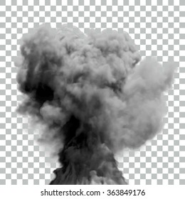 Isolated Vector Smoke | EPS10 Vector