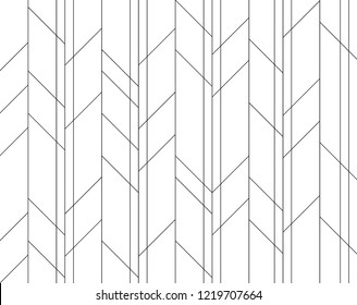 Isolated vertical and sloping line pattern vector. Design herringbone black on white background. Design print for wallpaper, textile, background, fabric. Set 1