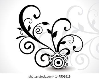 Isoleted Floral design vector illustration