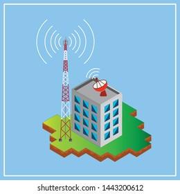 Building Antennas Images, Stock Photos & Vectors | Shutterstock