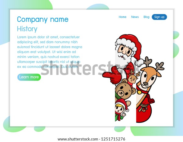 Christmas Festival Cartoon Images.Isometric Christmas Concept Illustration Christmas Character