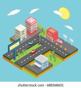 Isometric City Conceptual Design