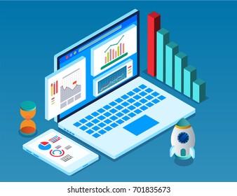 Isometric computers and big data analytics