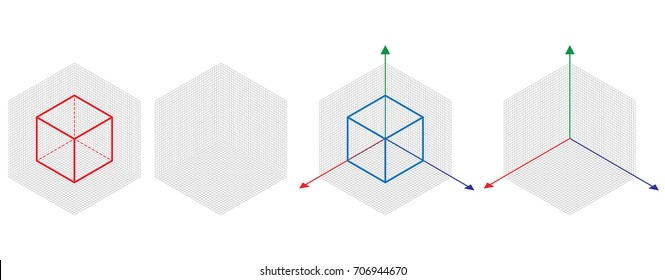 Grid Isometric Images, Stock Photos & Vectors | Shutterstock