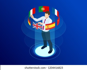 Isometric foreign language online dictionaries, multilingual audio guide, web translation, online translation agency, language selection, interpretation services