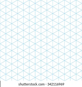 isometric grid seamless pattern, vector illustration, EPS 10