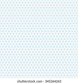 Isometric Grid Template for Your Design. Vector Illustration.