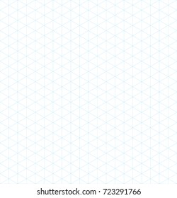 isometric grid vector pattern background design