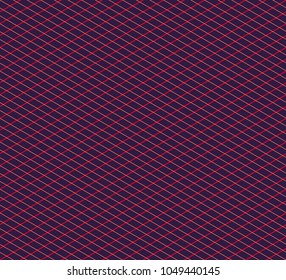 Isometric grid. Vector seamless pattern, contemporary texture. Professional instrument for design, technical drawing, isometry, illustration used by engineers, designers, architectures, in education.