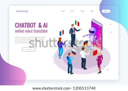 Isometric online voice translator