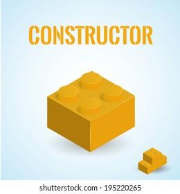 isometric plastick constructor