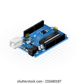 Isometric Single Board Micro Controllers