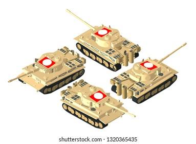 Tiger Tank Model Stock Illustrations, Images & Vectors   Shutterstock