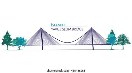 ISTANBUL, TURKEY ,Yavuz Selim Bridge