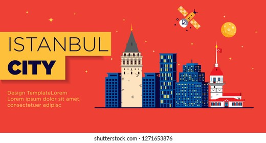 Istanbul Web Banner Graphic Template