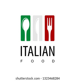 Italian Food Restaurant Logo