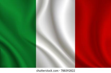 Italy Flag background
