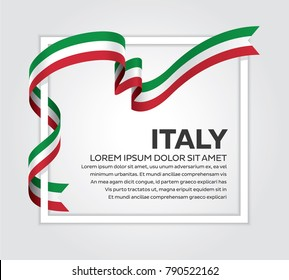 Italy flag background