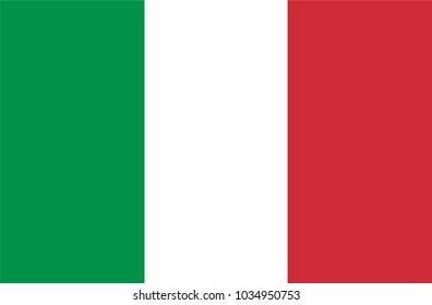 Italy  Flag country. Illustrator vector