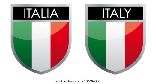 Italy - flag emblem