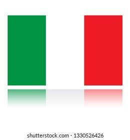 Italy flag. Simple vector Italy Italian flag