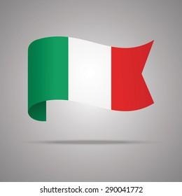 Italy Flag Vector