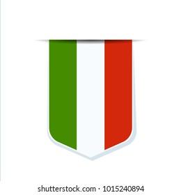 Italy shield sign