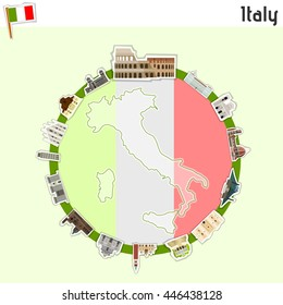 Italy - vector illustartion