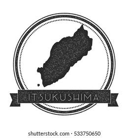 Itsukushima Map Stock Images RoyaltyFree Images Vectors