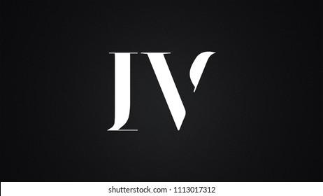 IV Letter Logo Design Template Vector