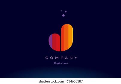 J Alphabet Letter Colorful Creative Colors Text Dots Company Logo Vector Icon Design Template